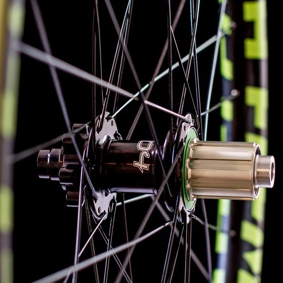 Mountain bike wheel and hub