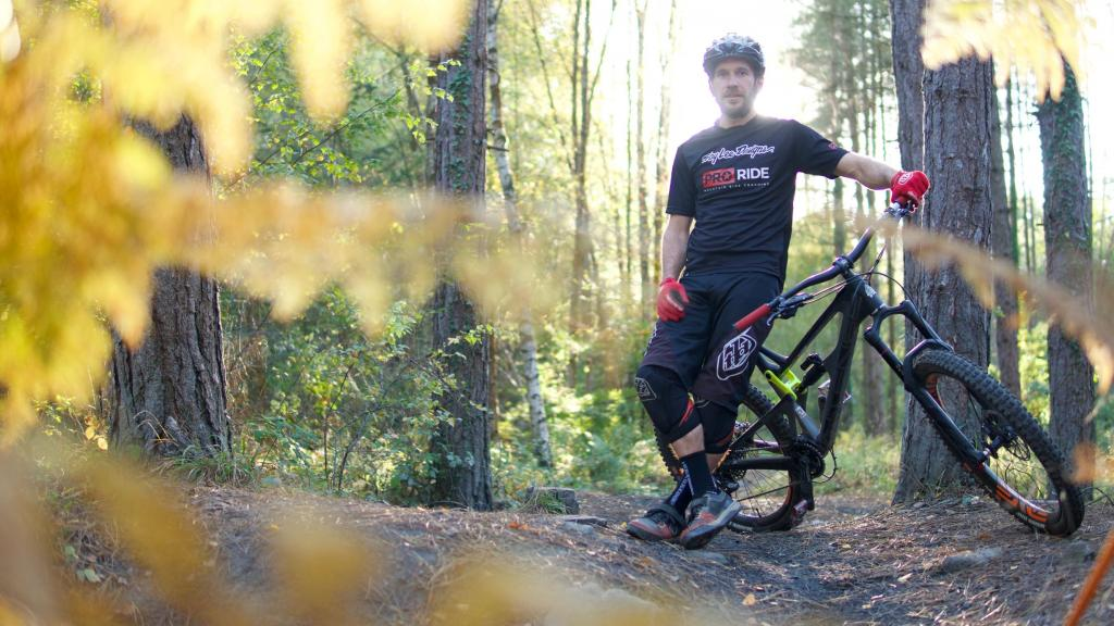 Olly Morris from Pro Ride Mountain Bike Coaching