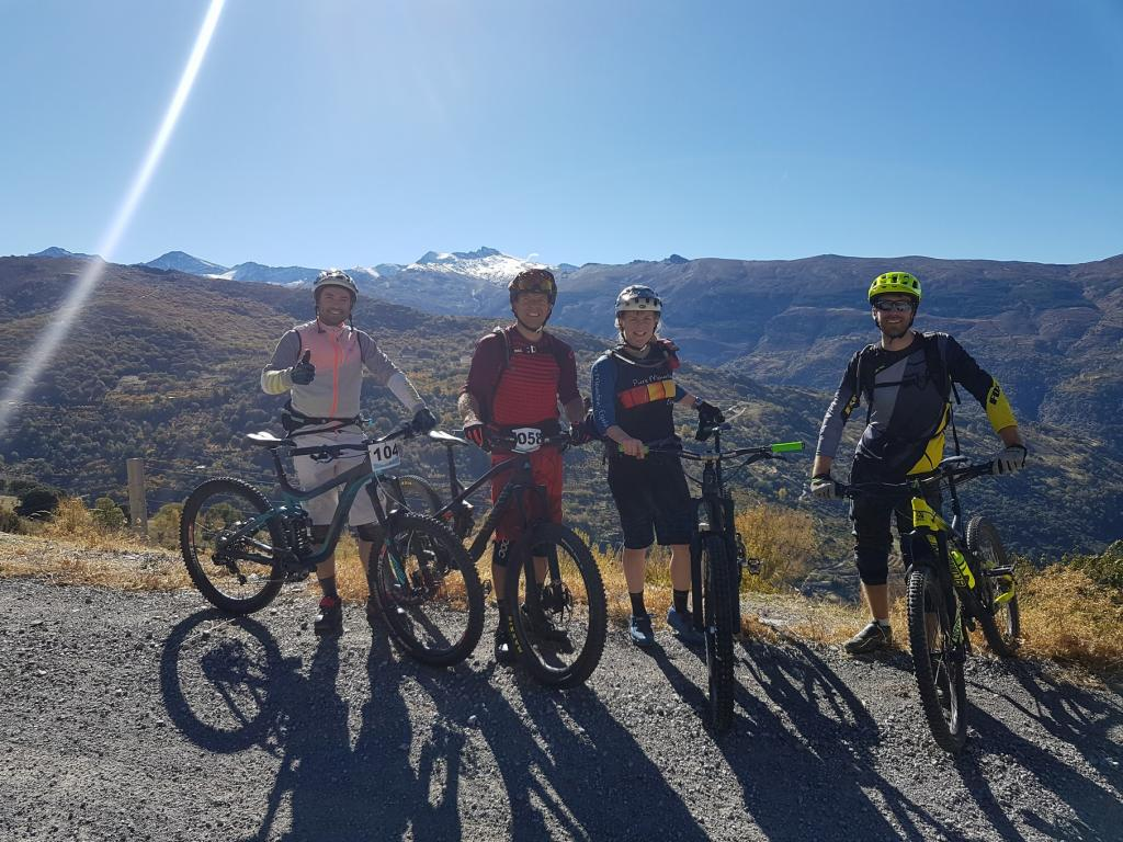 Enduro Racing with Friends in Spain