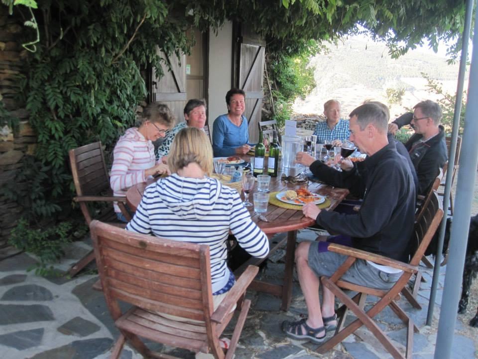 Summer dinner al fresco Sierra Nevada