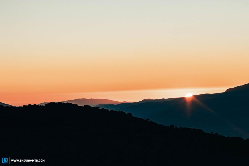 Sunrise from the farmhouse