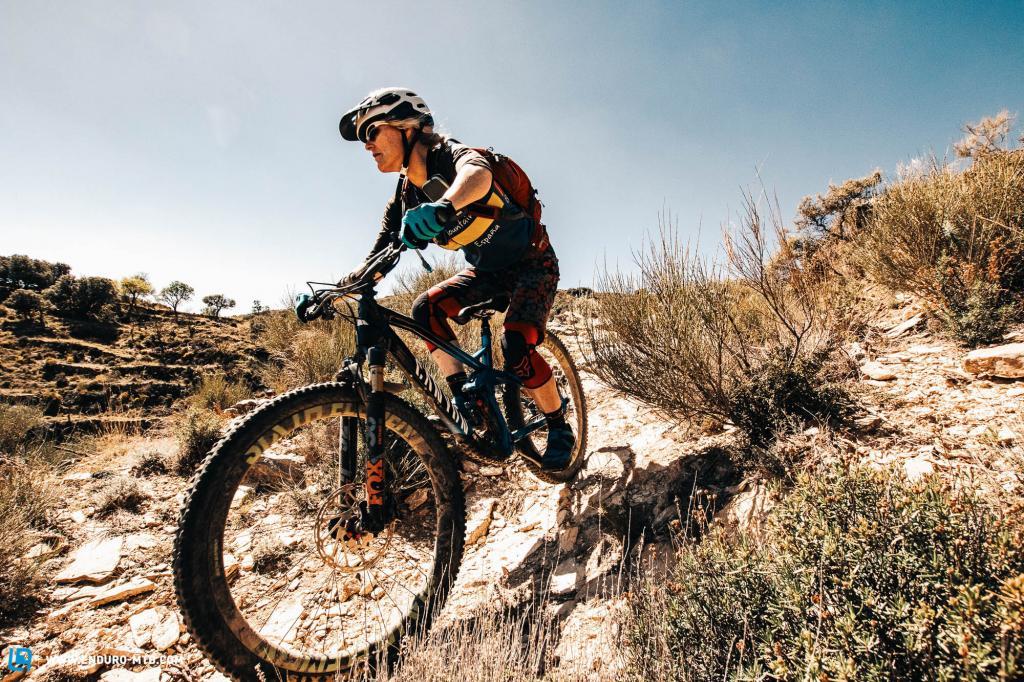 Mountain biking in Spain