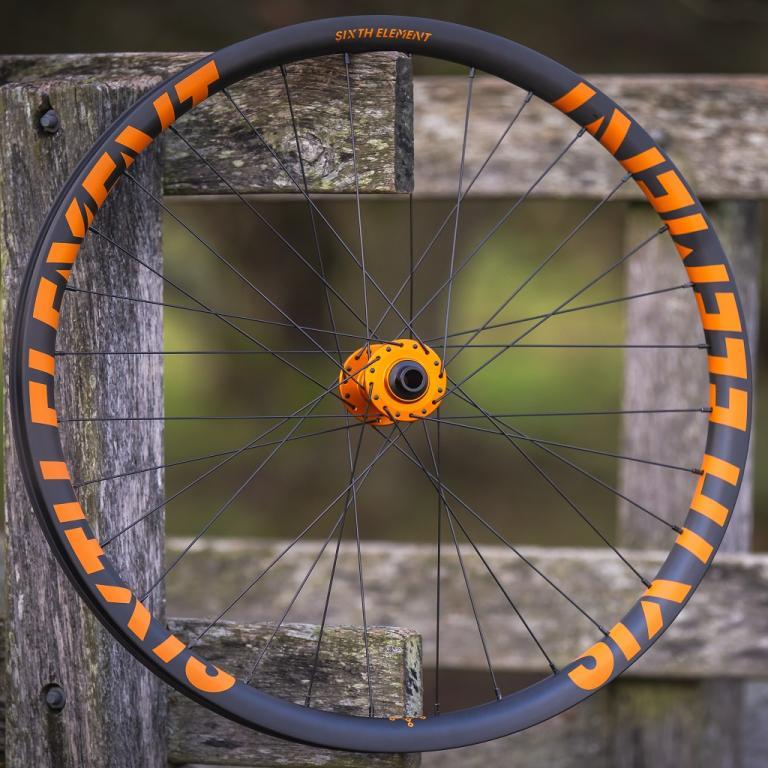 Sixth Element orange graphics