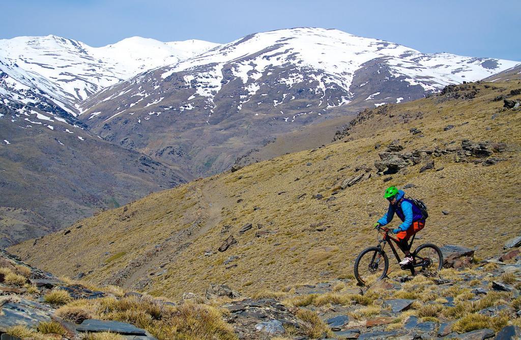Mountain biking the high Sierra Nevada