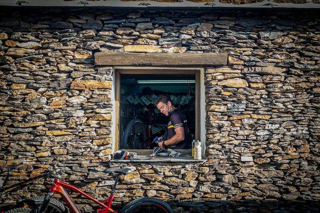 The bike workshop