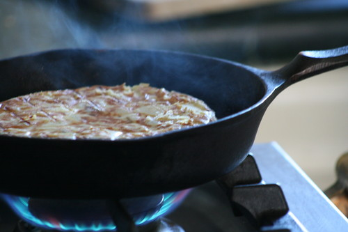 Mountain biking in southern Spain: tortilla española