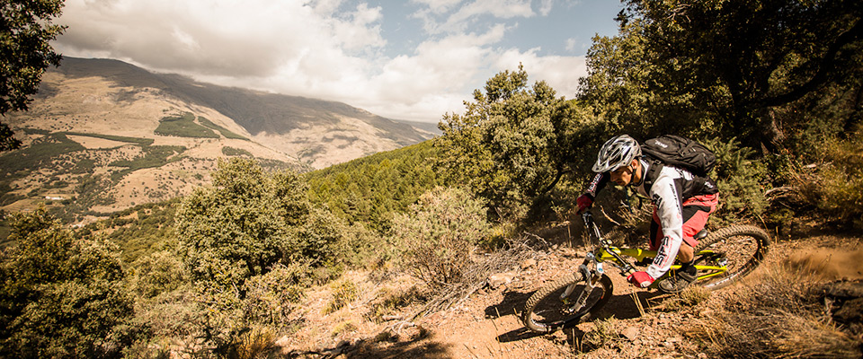 Neil Donoghue rides Pure Mountains' trails in Spain