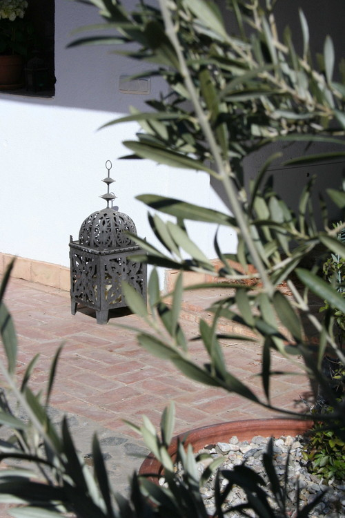 Mountain bike holidays: Moorish patio