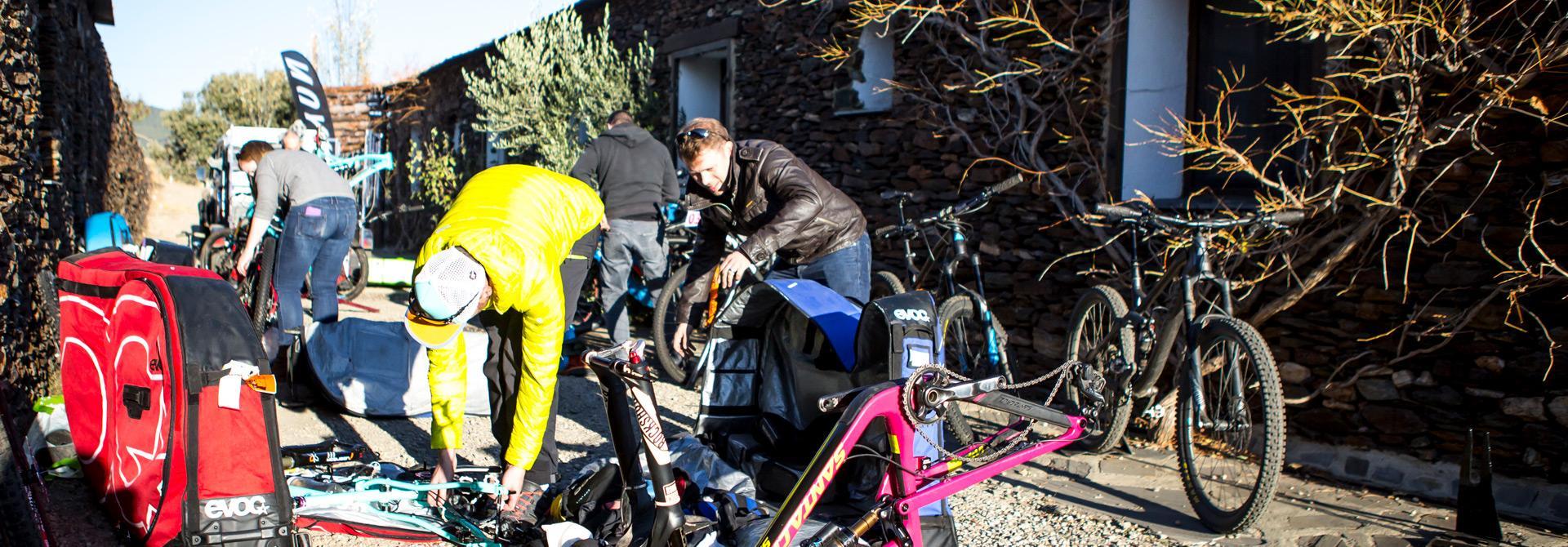 Hire bike or your own bike?