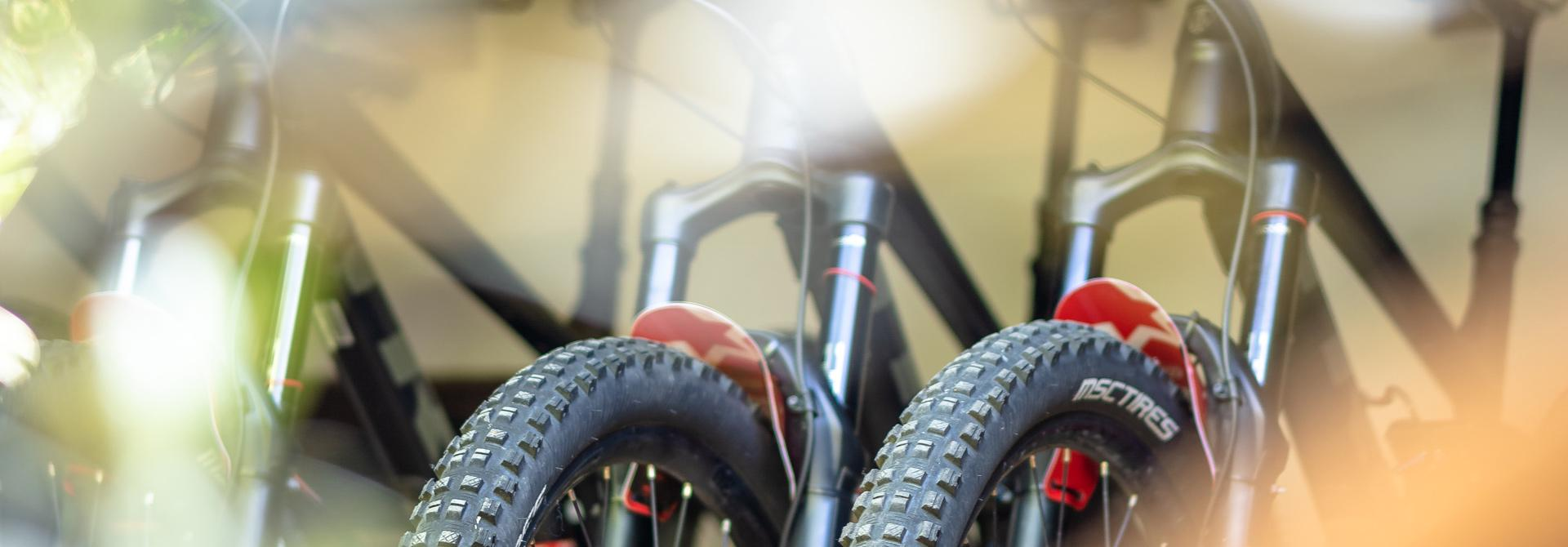 Top quality hire bikes for your mountain bike adventure